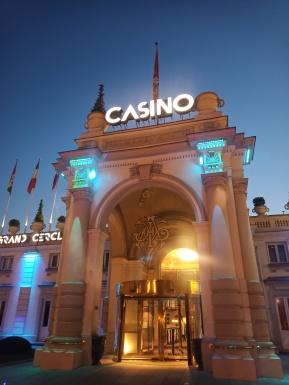 Façade Casino d'Aix les Bains